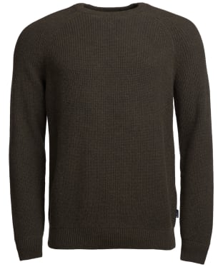 Men's Barbour Manor Crew Neck Sweater - Olive