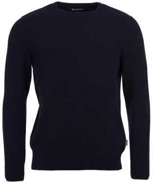 Men's Barbour Harold Crew Neck Sweater - New Navy