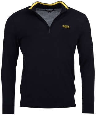 Men's Barbour International Absorb Merino Half Zip Sweater