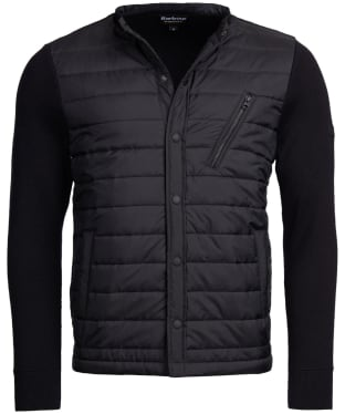 Men's Barbour International Circuit Baffle Knit Jacket - Black