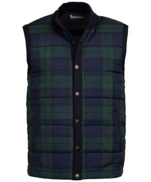 Men's Barbour Haddon Knit Gilet - Navy