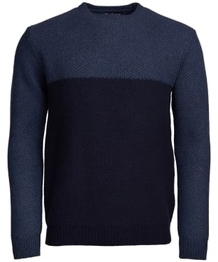 Men's Barbour Talon Crew Neck Sweater - Navy