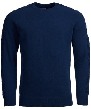 Men's Barbour International Tracker Crew Knit Sweater