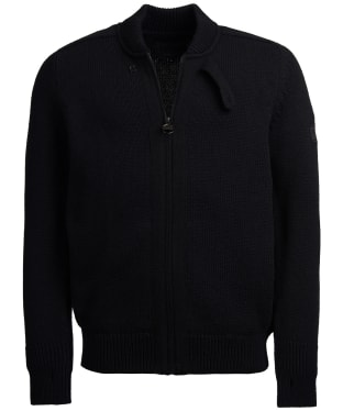 Men's Barbour International Hydraulic Zip Through - Black