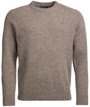 Men's Barbour Colton Crew Neck Sweater - Wild Sage