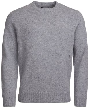 Men's Barbour Colton Crew Neck Sweater - Grey Marl