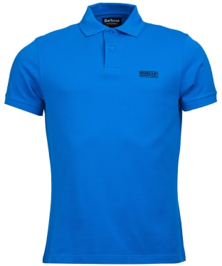 Men's Barbour International Essential Polo - Deep Turqoise