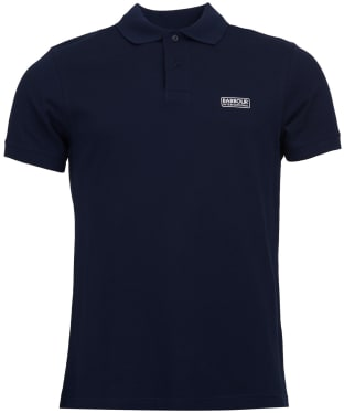 Men's Barbour International Essential Polo - INTERNATIO NAVY