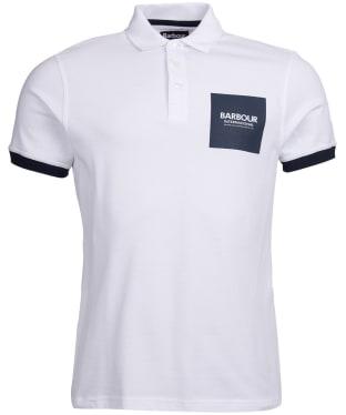 Men's Barbour International Scortch Polo - White