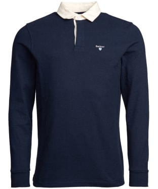 Men's Barbour Shield Rugby Shirt - Navy