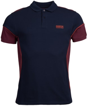 Men's Barbour International Block Polo Shirt - Navy