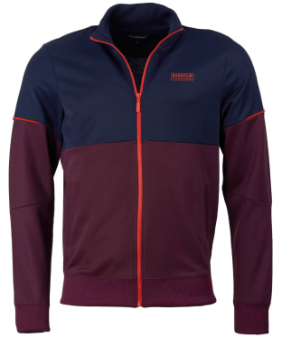 Men's Barbour International Flow Track Jacket - Merlot