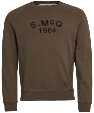 Men's Barbour International Steve McQueen Raceway Sweater - Olive