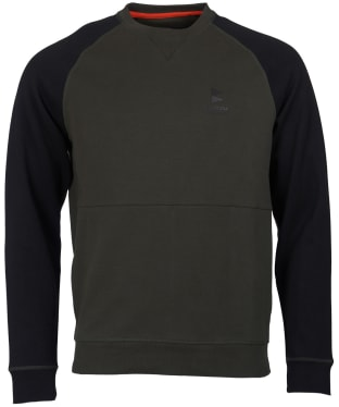 Men's Barbour Creek Crew Neck Sweater - Forest