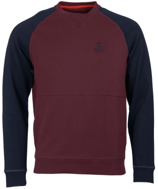 Men's Barbour Creek Crew Neck Sweater - Merlot