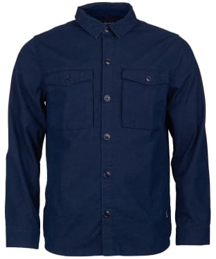 Men's Barbour Thermo Overshirt - Navy