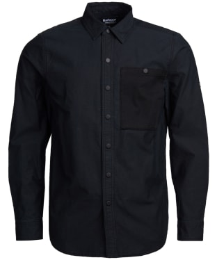 Men's Barbour International Dual Overshirt - Black