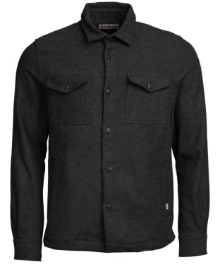 Men's Barbour Brushed Twill Overshirt - Forest