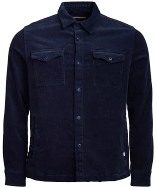 Men's Barbour Cord Overshirt - Navy