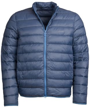 Men's Barbour Penton Quilted Jacket - Moody Blue