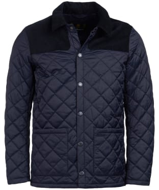 Men's Barbour Gillock Quilted Jacket - New Navy