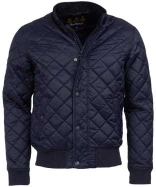 Men's Barbour Edderton Quilted Jacket - New Navy