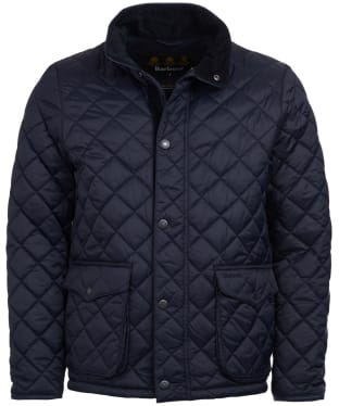 Men's Barbour Evanton Quilted Jacket - New Navy