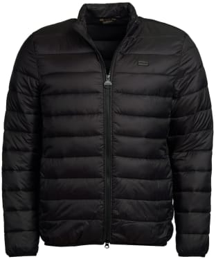 Men's Barbour International Reed Quilted Jacket - Black