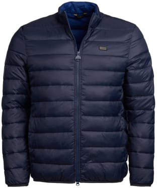 Men's Barbour International Reed Quilted Jacket - Navy