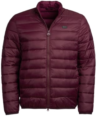 Men's Barbour International Reed Quilted Jacket - Merlot
