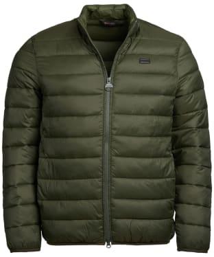 Men's Barbour International Reed Quilted Jacket - Sage