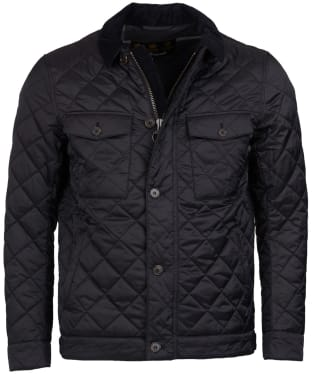 Men's Barbour Maesbury Quilted Jacket - Black