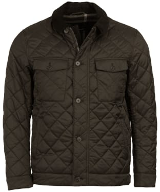Men's Barbour Maesbury Quilted Jacket - Olive