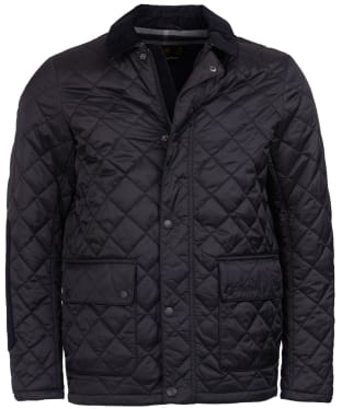 Men's Barbour Diggle Quilted Jacket - Black