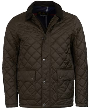 Men's Barbour Diggle Quilted Jacket - Olive