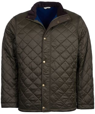 Men's Barbour Hawkshead Quilted Jacket - Olive