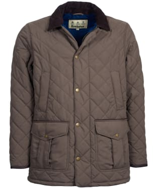 Men's Barbour Langdale Quilted Jacket - Forest