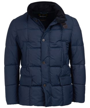 Men's Barbour Yaxley Quilted Jacket - Navy