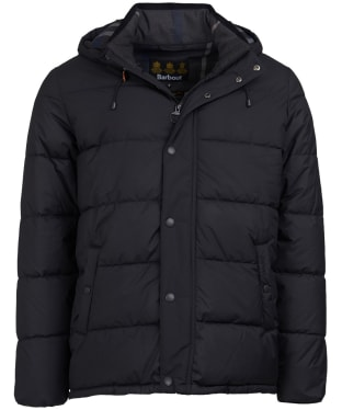 Men's Barbour Beeston Quilted Jacket - Black