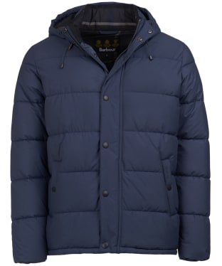 Men's Barbour Beeston Quilted Jacket - Moody Blue