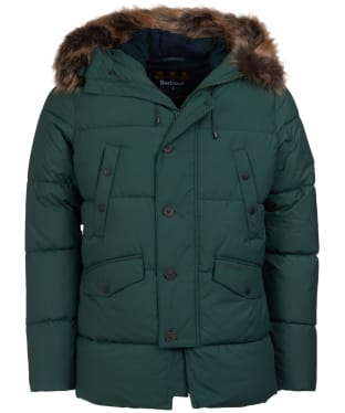 Men's Barbour Fenny Quilted Jacket - Jungle Green