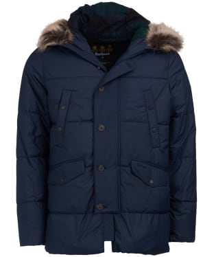 Men's Barbour Fenny Quilted Jacket - Navy