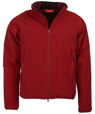 Men's Barbour Torro Quilt Jacket - Crimson