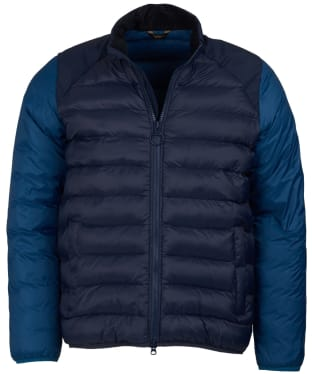 Men's Barbour Brocken Quilted Jacket - Navy
