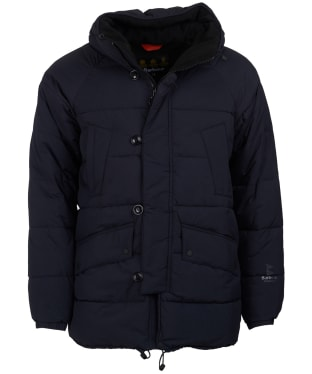 Men's Barbour Alpine Quilted Jacket - Black