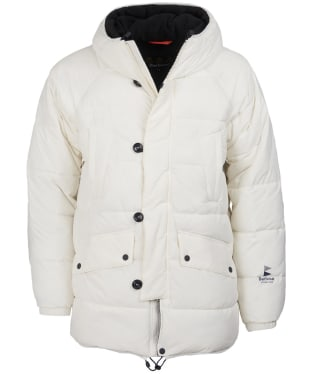 Men's Barbour Alpine Quilted Jacket - Egret