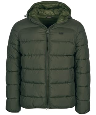 Men's Barbour International Court Quilted Jacket - Sage