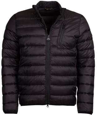Men's Barbour International Farlam Quilted Jacket - Black