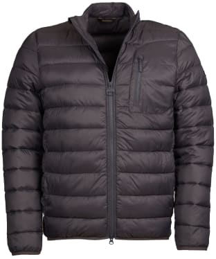 Men's Barbour International Farlam Quilted Jacket - Charcoal