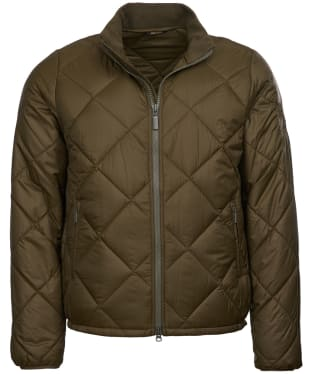Men's Barbour Steve McQueen Kingman Quilted Jacket - Army Green